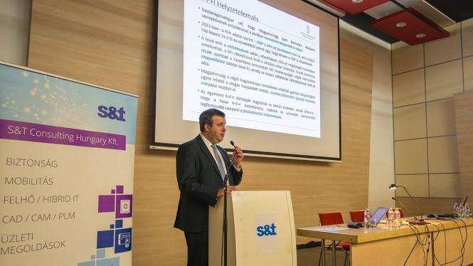A rendezvény kiemelt előadója Dr. Palkovics László felsőoktatásért felelős államtitkár volt