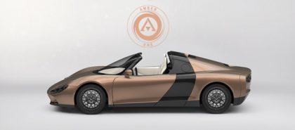 Amber One - magyar elektromos sportautó
