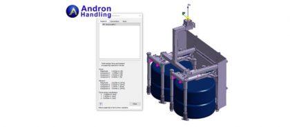 Komplex összeállítások gyors analízise az Altair SimSolid segítségével az Andron Handling vállalatnál